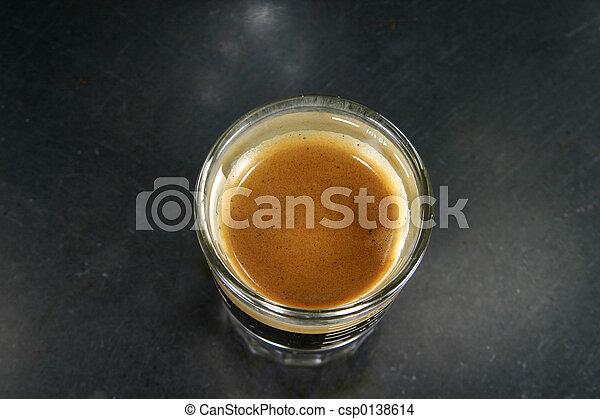 espresso, skott - csp0138614