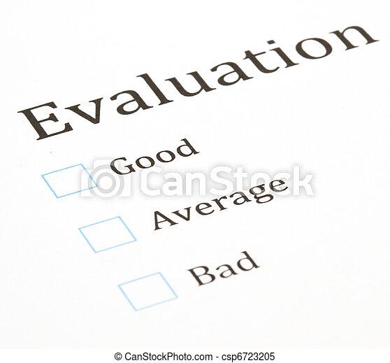 essai, évaluation - csp6723205