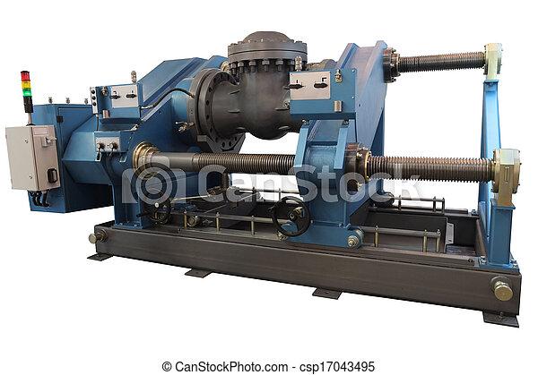 essai, machine, hydrostatic - csp17043495