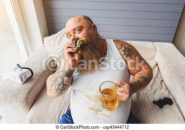 betrunken auf dick