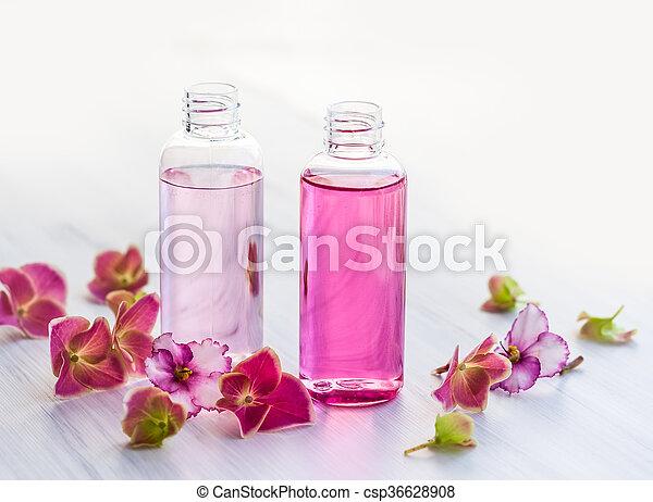 essential aromatic oils  - csp36628908