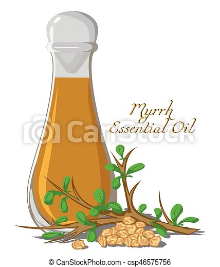 Essential oil of myrrh - csp46575756