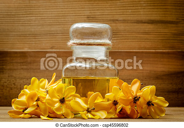 Essential oil with yellow gardenia flowers for aroma massage essential oil with yellow gardenia flowers for aroma massage csp45596802 mightylinksfo