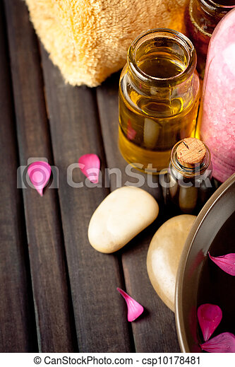 Essential oils and bath products - csp10178481