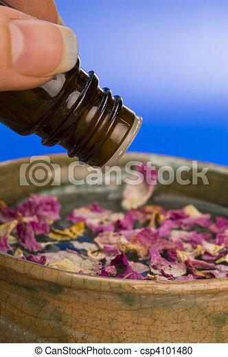 essentie, alternatief, medicine: - csp4101480