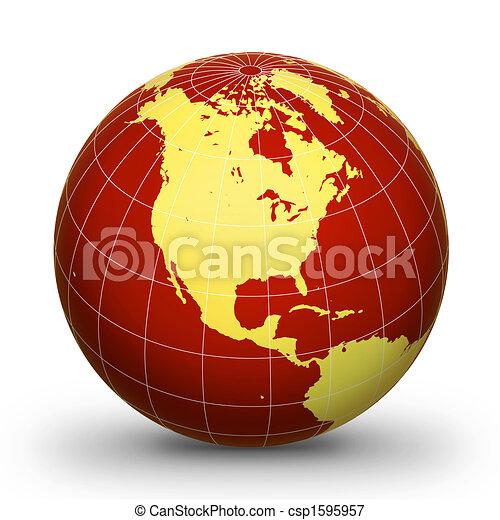 essere, ld, geografico, 2, glo, wor - csp1595957