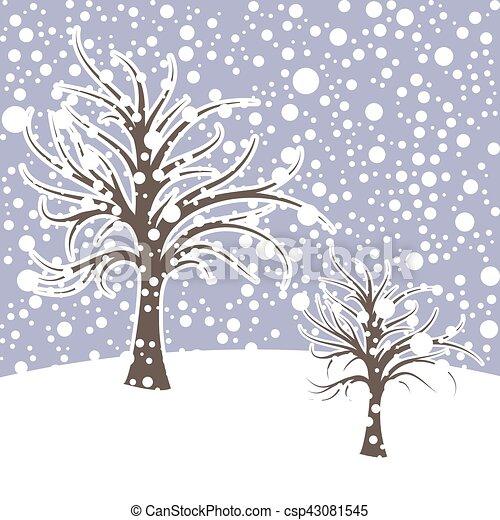 Estacao Desenho Paisagem Inverno Neve Inverno Estacao