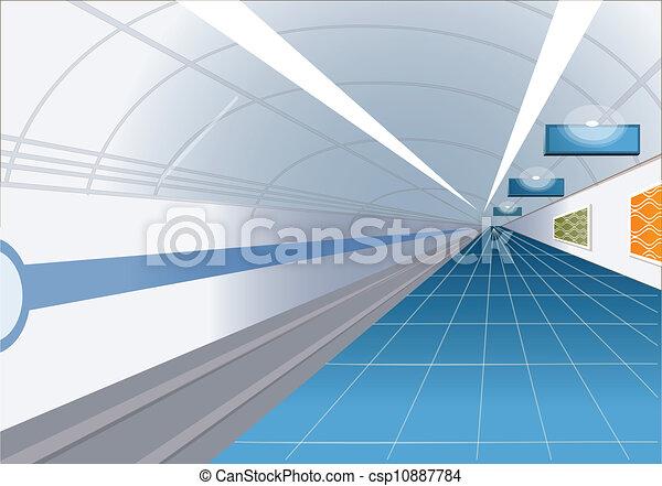 estação, metro - csp10887784