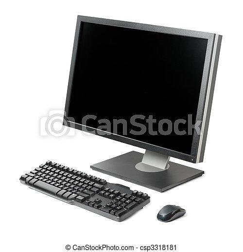 Computadora activada aislada - csp3318181