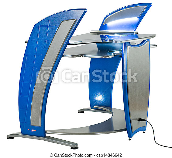 La computadora moderna o la estación de trabajo - csp14346642