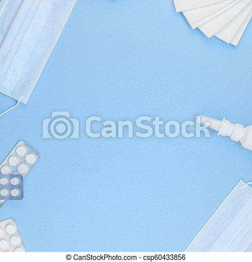 Concepto la alergia de primavera estacional - csp60433856