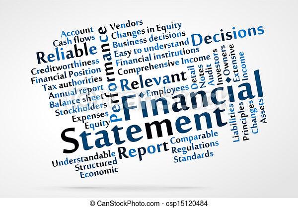 Declaración financiera - csp15120484