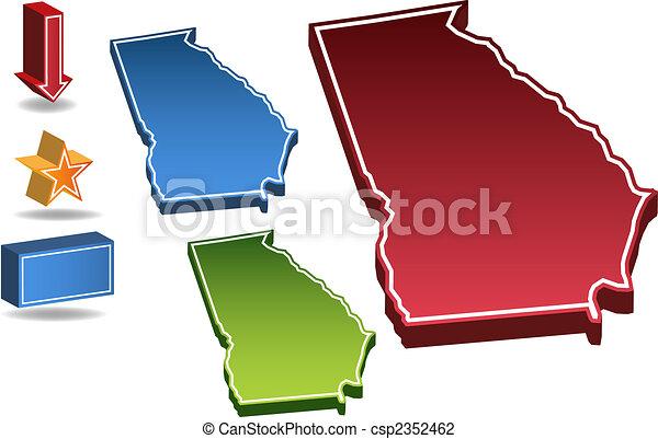 Estado de Georgia - csp2352462