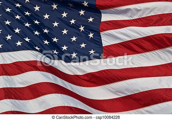 estados, flag., unidas, américa - csp10084228