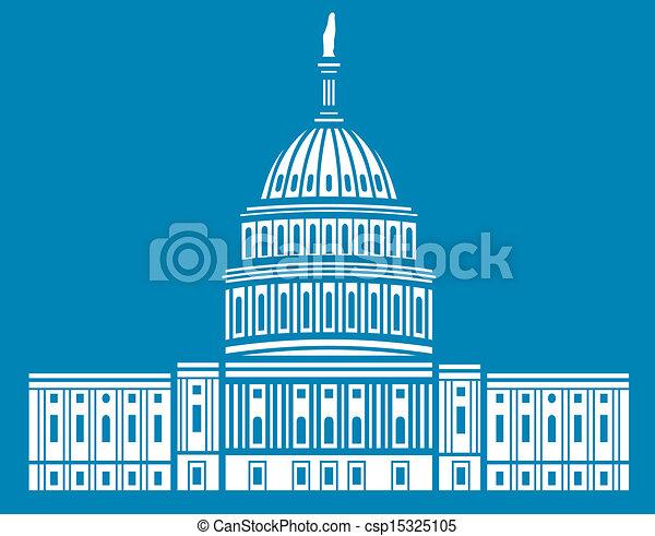 estados, unidas, capitol - csp15325105
