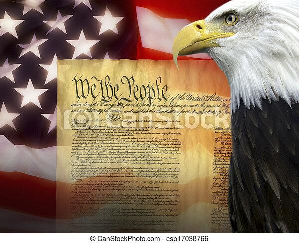 Estados Unidos de América - patriotismo - csp17038766