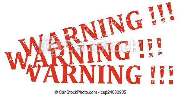 Alerta de sello rojo - csp24080905