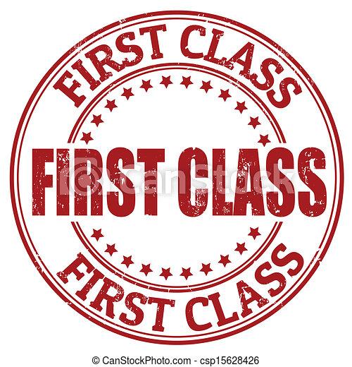 Un sello de primera clase - csp15628426