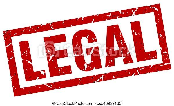 Estampado legal rojo grunge - csp46929165