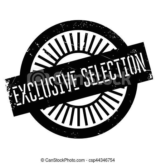 Selección exclusiva - csp44346754