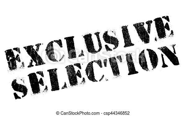 Selección exclusiva - csp44346852