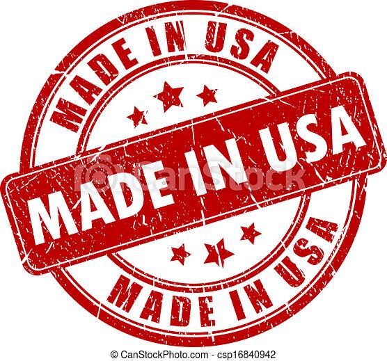 Hecho en Estados Unidos - csp16840942
