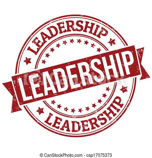 El sello de liderazgo - csp17075373