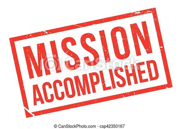 Misión cumplida - csp42350167