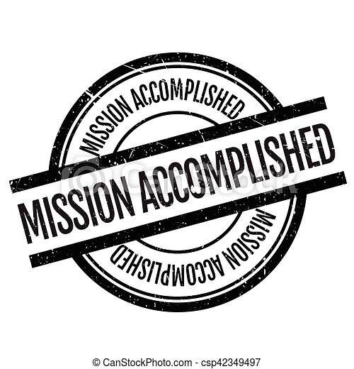 Misión cumplida - csp42349497