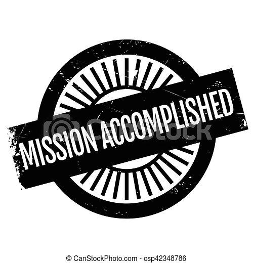 Misión cumplida - csp42348786
