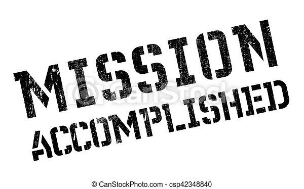 Misión cumplida - csp42348840