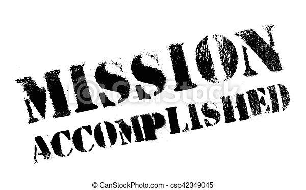 Misión cumplida - csp42349045