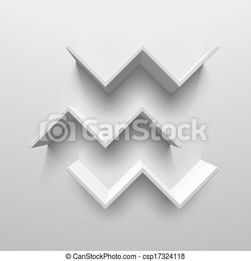 Librerías de pájaros blancos - csp17324118