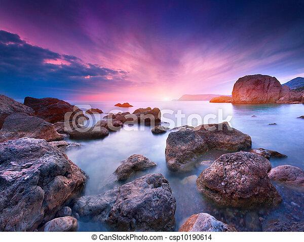 estate, colorito, marina - csp10190614