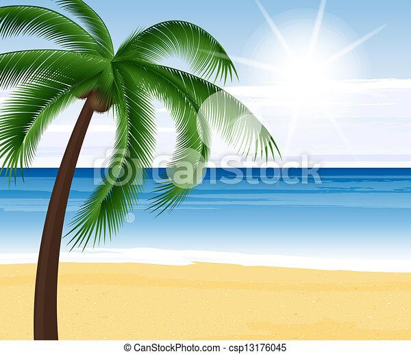 estate, fondo - csp13176045
