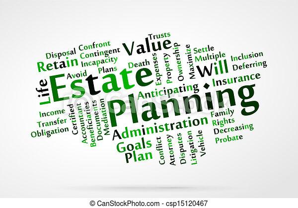 Estate planning - csp15120467