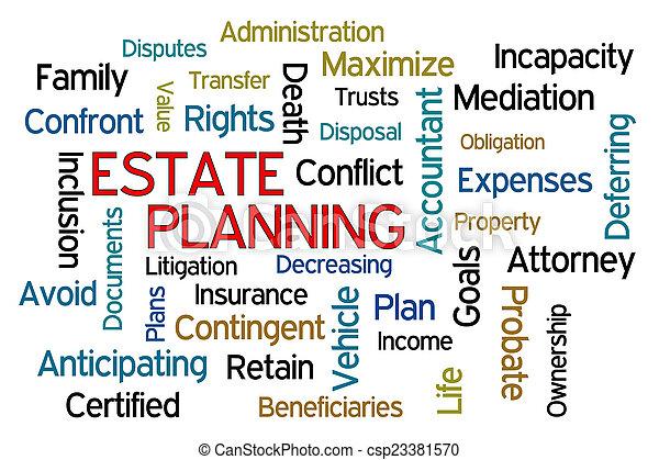 Estate Planning - csp23381570