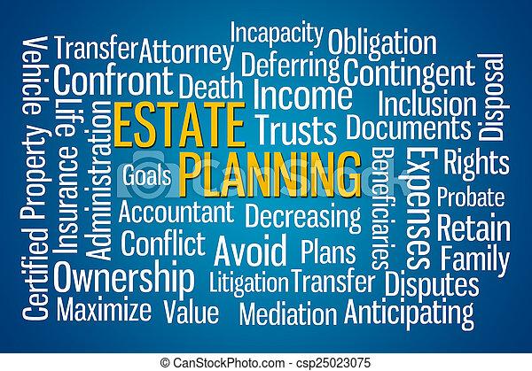 Estate Planning - csp25023075