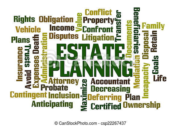 Estate Planning - csp22267437
