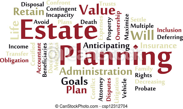 Estate planning - csp12312704