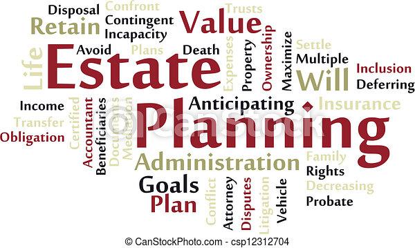 Estate planning - csp12312704