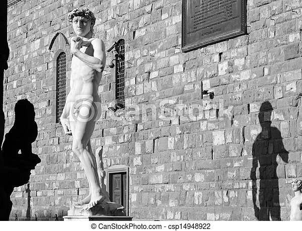 Estatua de David de Michelangelo - csp14948922