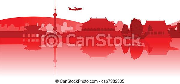 Viajando por Asia Oriental - csp7382305