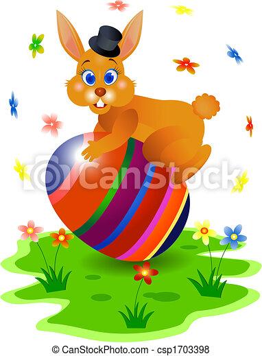 Ester Bunny - csp1703398