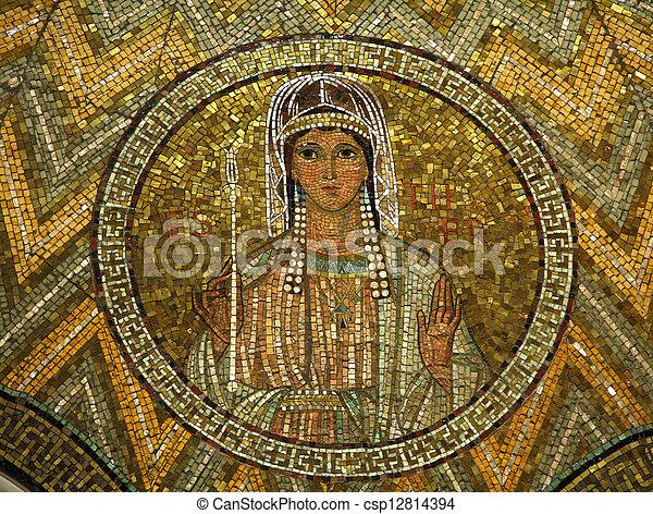 Esther, mosaic - csp12814394