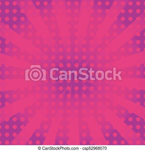 Antecedentes con estilo arte pop - csp52968070