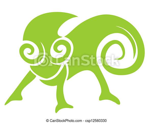 estilo camaleão estilo criativo desenho camaleão