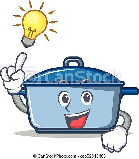 Tengo una idea del estilo de dibujos animados de la cocina - csp52848486