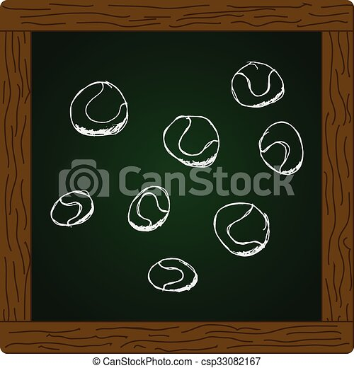 Un juego de dibujos animados - csp33082167