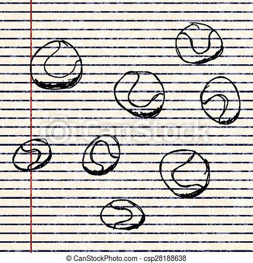 Un juego de dibujos animados - csp28188638